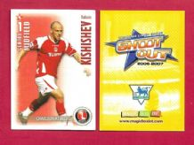 Charlton Athletic Radostin Kishishev Bulgaria (SO07)